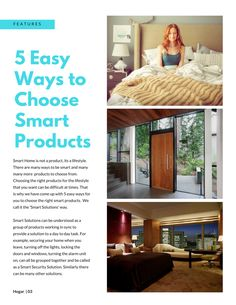 14 best hogar lifestyle smart home magazine images on pinterest