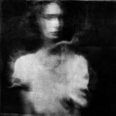 Ghost girl b&w. photo by Antonio Palmerini
