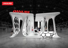 Danube, exhibition stand