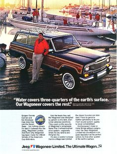Dennis Conners and the Jeep Wagoneer Americas Cup ad.