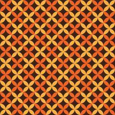 Autumn seamless pattern. Endless texture vector art illustration