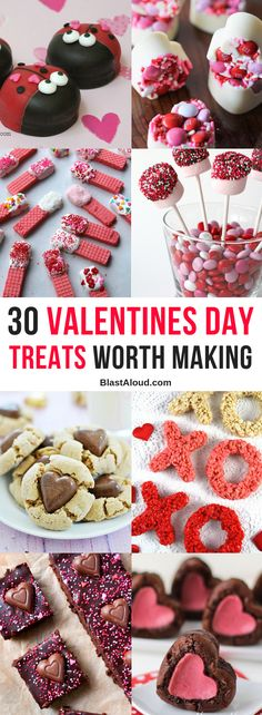 Easy Valentines Day Treats - yummy valentines dessert ideas Spoil your loved ones with these Easy Valentines Day Treats that will make them feel super special! These Valentines desserts are fun and easy to make! Valentine Desserts, Mini Desserts, Jill Valentine, Valentines Day Treats, Holiday Desserts, Holiday Treats, Easy Desserts, Holiday Recipes, Dessert Recipes