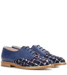 Oscar de la Renta Leather Oxford Shoes For Spring-Summer 2017