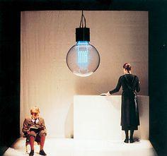 Schaubühne Theatre Design, Stage Design, Set Design, Scenography Theatre, Stage Set, Scenic Design, Modern Dance, Art Of Living, Wall Lights