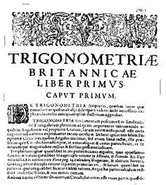 Henry Briggs, el matemático desconocido. | Matemolivares
