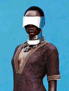 SAUCER KOMMAND — Ajak Deng, Afrofuturism