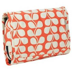 Orla Kiely Tall Flower Medium Hanging Organizer Cosmetic Bag   Target  Hanging Cosmetic Bag 7062d79ba8345