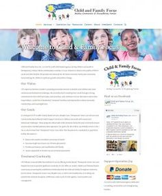 Customized Joomla to WordPress Conversion for Child and Family Focus Wordpress Help, Portfolio Web Design, Children And Family, Conversation