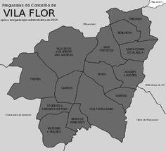 Freguesias do concelho de Vila Flor