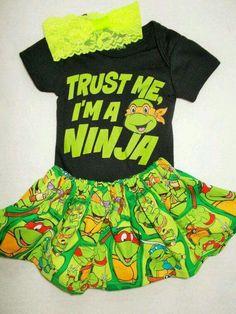 adorable TMNT dress