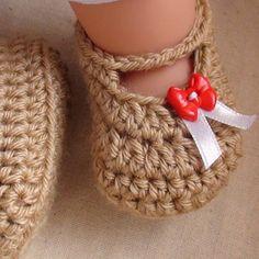 Crochet For Children: Posh Crochet Baby Booties Pattern
