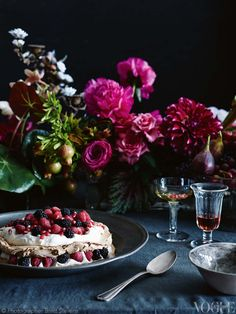 From 'At My Table' in Vogue Living April 2013.