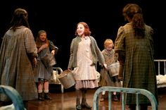 Galvanized buckets/tubs...also the finish on the beds!   Photo Flash: First Look at Lauren Weintraub, Jacquelyn Piro Donovan and More in NSMT's ANNIE