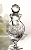 Marquis by Waterford Crystal Perfume Bottle Yours Truly Etched Heart 5.5... - €62,60 EUR