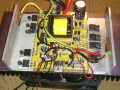 i just repared a defect solar power inverter for my mobile home.