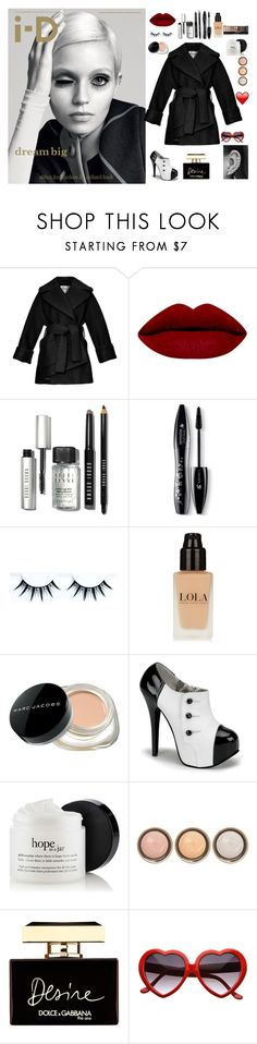 """BIG EYES❤️"" by seniora ❤ liked on Polyvore featuring Carven, Bobbi Brown Cosmetics, Lancôme, Marc Jacobs, By Terry, Dolce&Gabbana, women's clothing, women's fashion, women and female"
