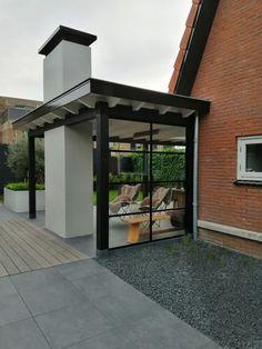 Dedicated design layout for the double veranda Buy now, buy . Winter Garden, Minimalist Garden, House With Porch, Outdoor Rooms, Porch Design, House Extension Design, Cosy House, House Planter, Building A Porch
