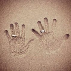 Great picture to take on the honeymoon!