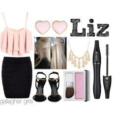 """""""Liz"""" by joannatrinkle on Polyvore Liz would die in heels."""