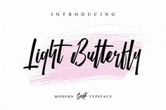Light Butterfly by individuel on @creativemarket
