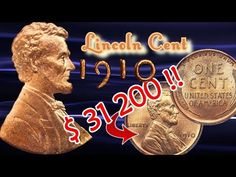 Valuable 1910 Lincoln Pennies Date by Date Valuable Wheat Pennies, Valuable Coins, Wheat Penny Value, Penny Values, Rare Pennies, Old Coins Worth Money, Native American Symbols, All Currency, Error Coins