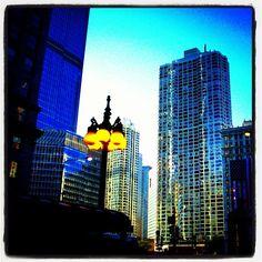 Chicago nightfall - @frankyboy1- #webstagram