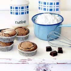 Gâteaux crousti-fondants aux chocolat