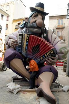 Fallas en Valencia para la celebración de la 'cremá' 2014