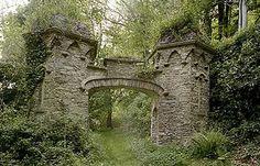 Gothic-Tudor style, marks one of the entrances to the Glenthorne Estate