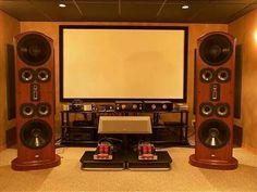 Audio Room, Cinema Room, High End Audio, Home Cinemas, Loudspeaker, Audio System, Audiophile, Cool Rooms, Cool Pictures