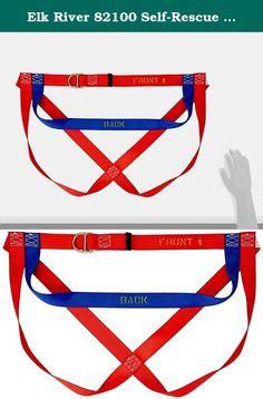 Elk River 82100 Self-Rescue Harness, One Size. Elk River Self-rescue harness. Not for fall arrest.