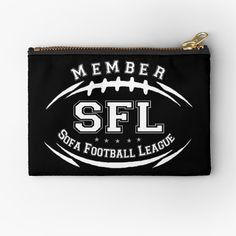Buy Sofa, Zipper Pouch, Pouches, Are You The One, I Shop, Zip Around Wallet, Football, Printed, Awesome
