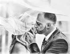 25th anniversary gifts for husband, Custom Pencil drawing, Silver anniversary gift for men Dating Anniversary Gifts, Silver Anniversary Gifts, Paper Anniversary, Anniversary Gifts For Husband, Wedding Anniversary, Personalised Gifts For Him, Personalized Photo Gifts, Draw On Photos, Portraits From Photos