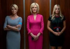 "colleen atwood costumes - ""Bombshell"" Megyn Kelly, Margot Robbie, Charlize Theron, Nicole Kidman, Christopher Nolan, Quentin Tarantino, Donald Trump, Colleen Atwood, Billy Crudup"