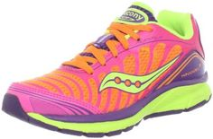 Saucony Girls Kinvara Running Shoe (Little Kid/Big Kid) Saucony. $59.95. Rubber sole. Synthetic/Mesh