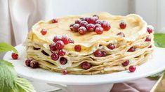 Máte radi palacinky? Urobte si z nich veľkú tortu Ethnic Recipes, Food, Basket, Essen, Meals, Yemek, Eten
