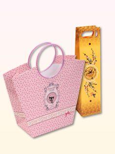 Pussy Deluxe Gift bag set 2 pcs. bottle 10 x 10 x 40/ Trapez 20 x 12 x 27,5 - NAPO Shop - der offizielle Nastrovje Potsdam Shop
