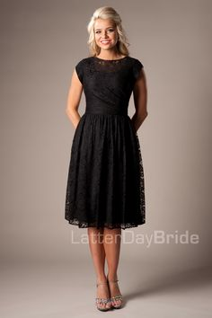 I'd love this as a bridesmaids dress if they had it in one of my colors!