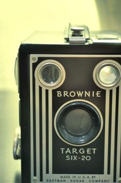 i need a vintage camera...and one named brownie sounds perfect