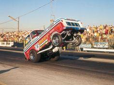 The Back Up Pickup wheelstander