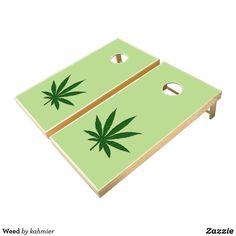 Weed Cornhole Set. R