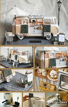 owl【细界】迷你流动咖啡车。-拥有咖啡店不再是幻想的美梦-