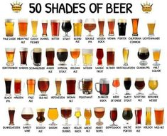 Types of beer chart Beer Recipes, Cooking Recipes, Beer Infographic, Beer Boot, Craft Bier, Beer Pairing, Beer Poster, Beer Cheese, Home Brewing Beer