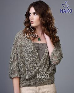 Venüs Bolero / / Kadın / MODELLER / Nako New Hobbies, All Things, Pandora, Knitting, Sweaters, Handmade, Clothes, Fashion, Knitting Sweaters