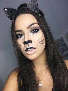 Make de gatinho, make gato, make mulher gato! Instagram: bypamella