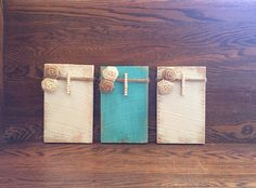 Rustic Clothespin Picture frame, Pallet Wood Clothespin Picture Frame, Clothespin Picture Frame