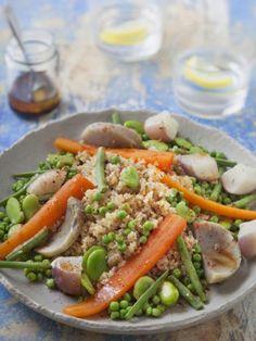 Recette Couscous de printemps (semoule aux petits légumes)