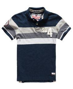 Mens - Matterhorn Polo Shirt in Deep Indigo Marl   Superdry