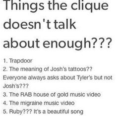 We don't talk about the Migraine video because we can't find it in the U.S.!