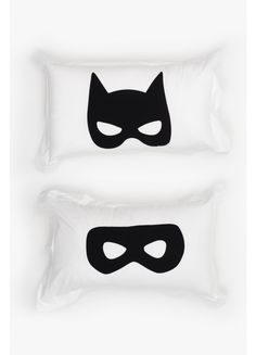 Pillowcase Pair - Mask Eyes - Bedding - Home - Superette | Your Fashion Destination.